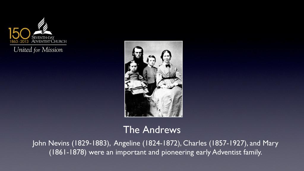 The Andrews  John Nevins (1829-1883), Angelin...
