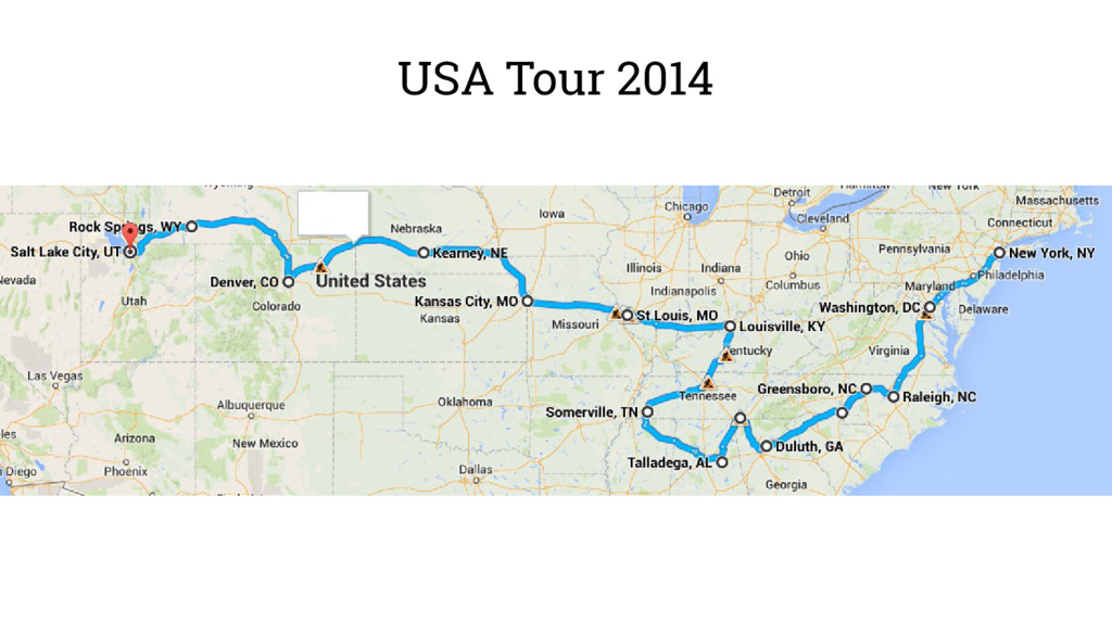 USA Tour 2014