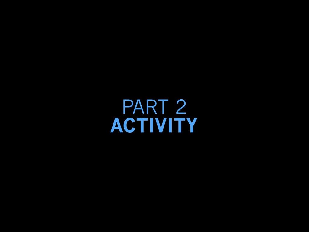 PART 2 ACTIVITY