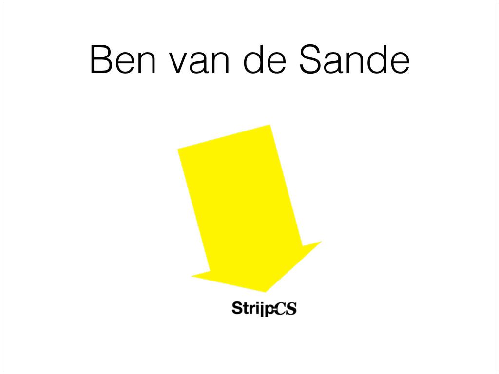 Ben van de Sande
