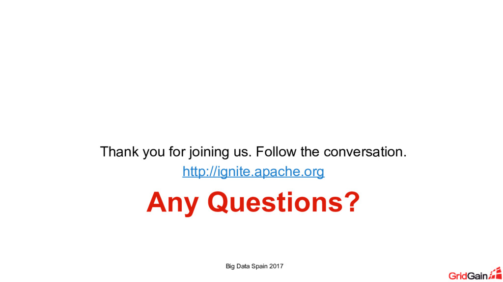Any Questions? Thank you for joining us. Follow...