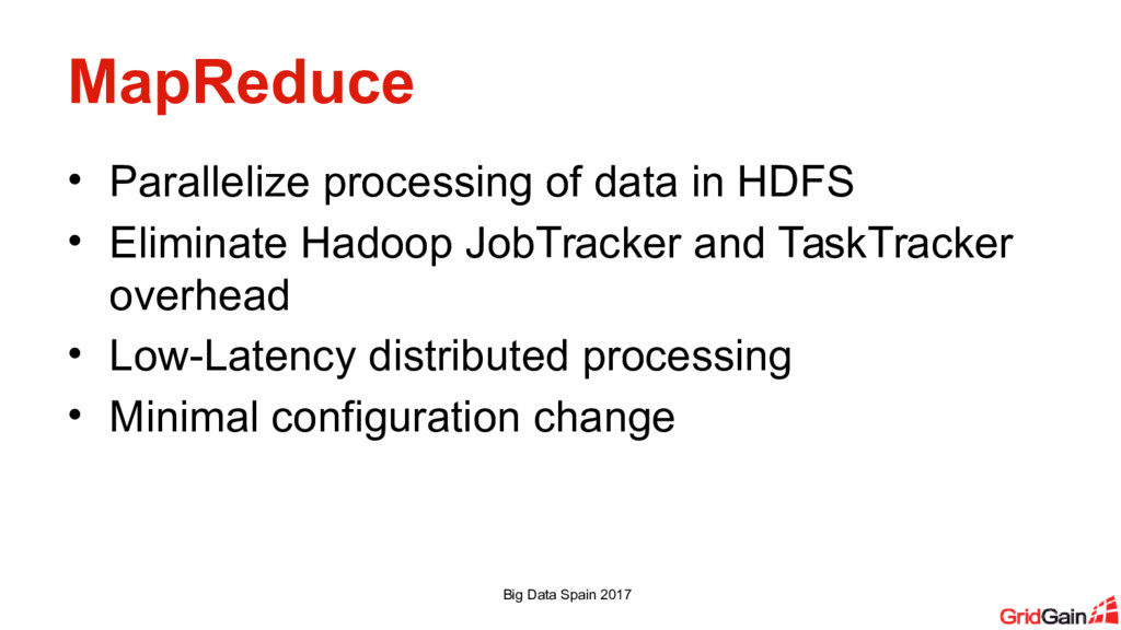 MapReduce • Parallelize processing of data in H...