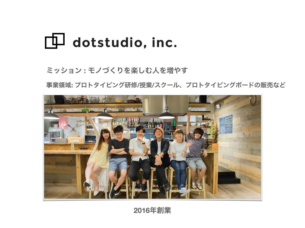 dotstudio, inc. ϛογϣϯ : Ϟϊͮ͘ΓΛָ͠ΉਓΛ૿͢ 2016ۀ ...