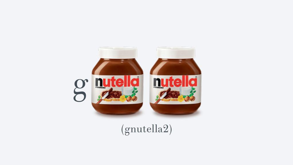 g (gnutella2)