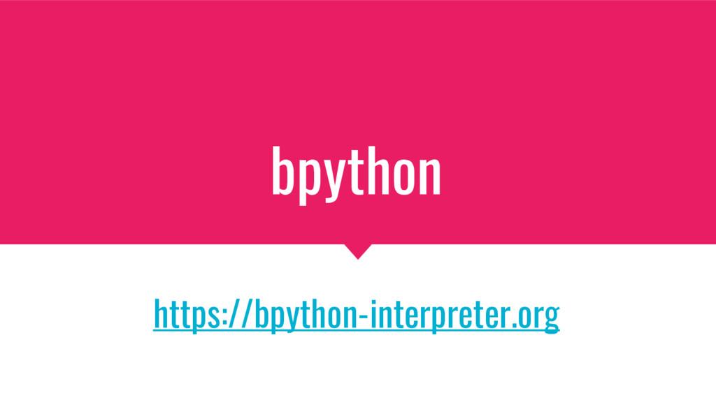 bpython https://bpython-interpreter.org