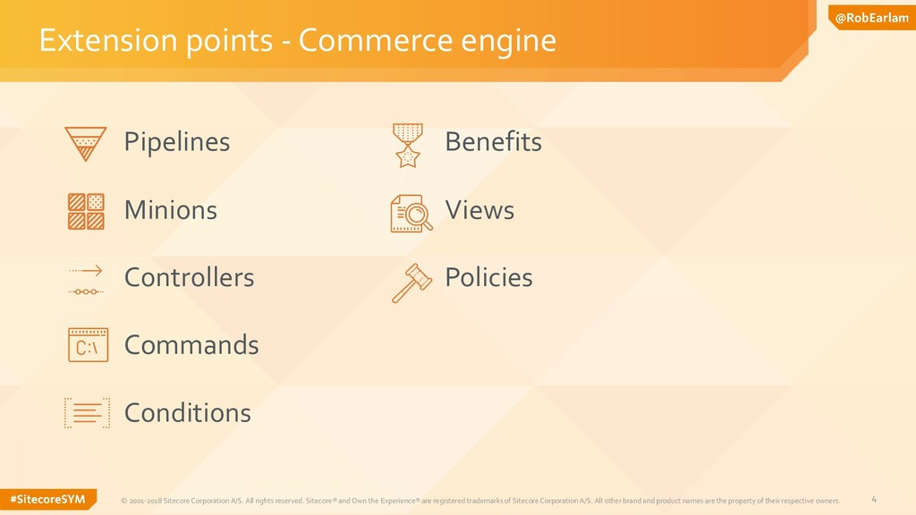 4 Extension points - Commerce engine © 2001-201...