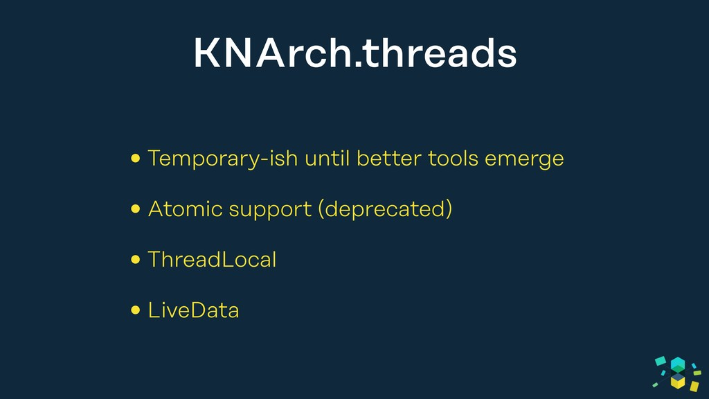 KNArch.threads • Temporary-ish until better too...