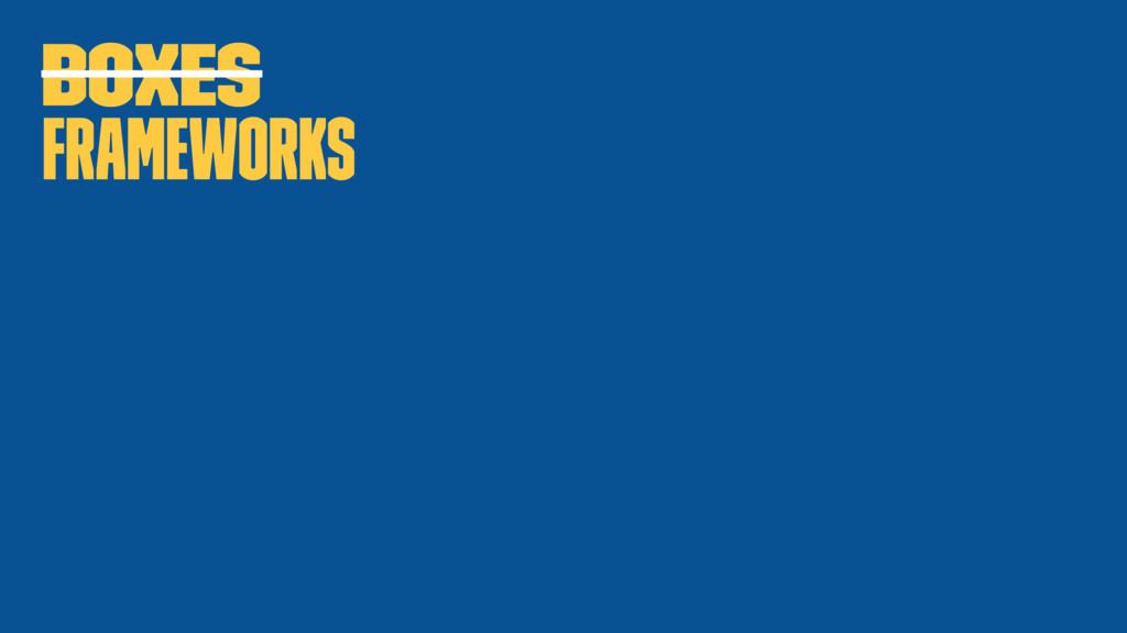 Boxes Frameworks