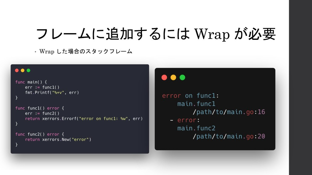Wrap  • Wrap