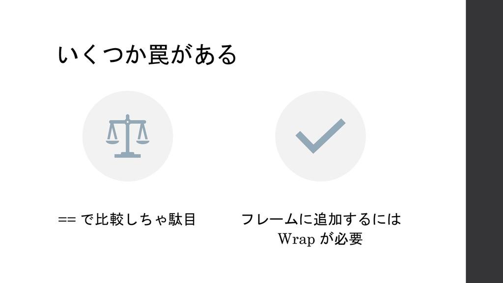 ==    Wrap