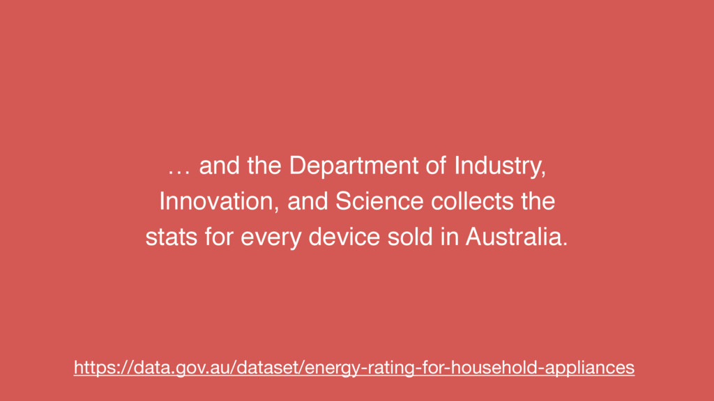 … and the Department of Industry, Innovation, a...