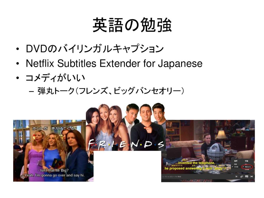 • DVDのバイリンガルキャプション • Netflix Subtitles Extender...