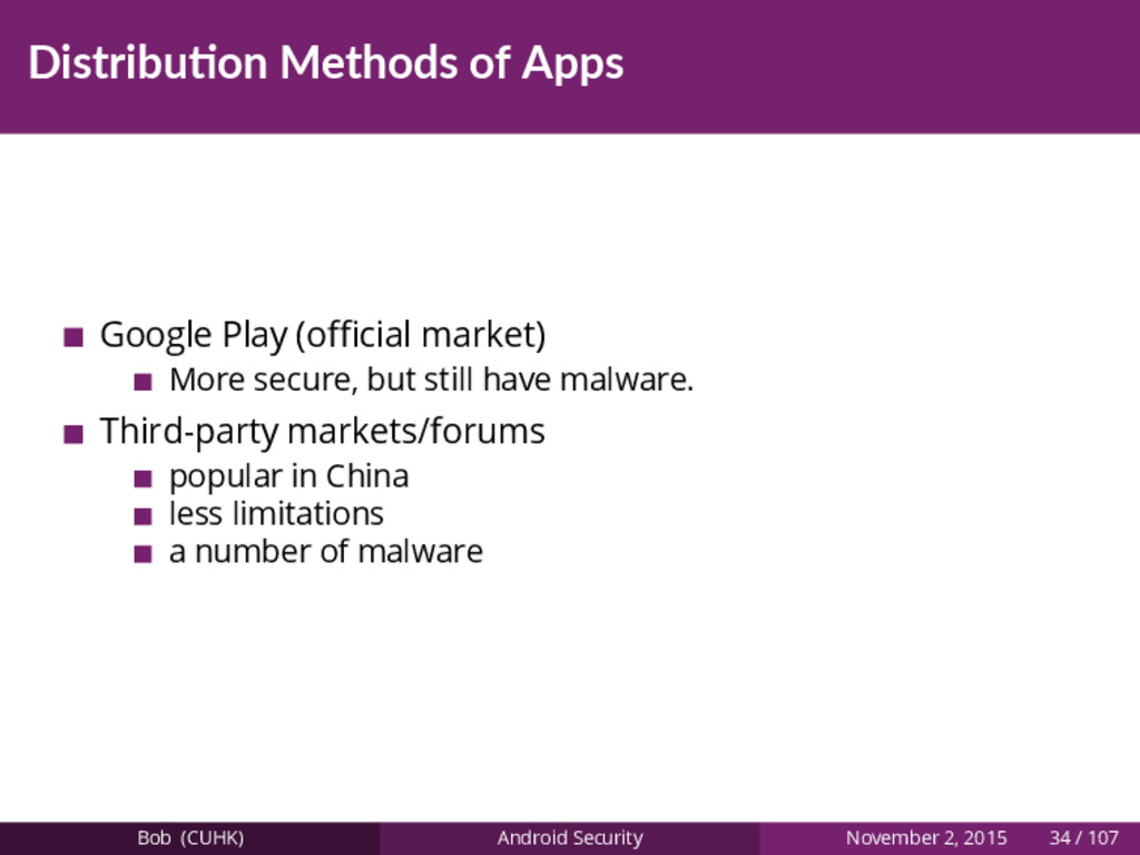 Distribu on Methods of Apps Google Play (official...