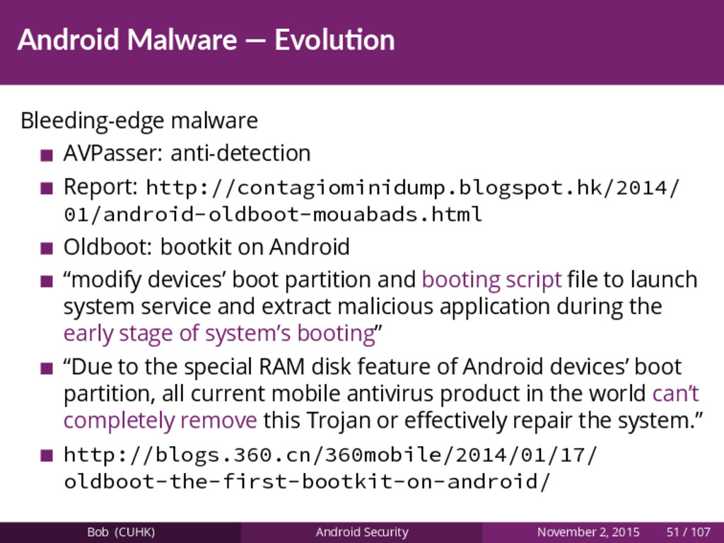 Android Malware — Evolu on Bleeding-edge malwar...