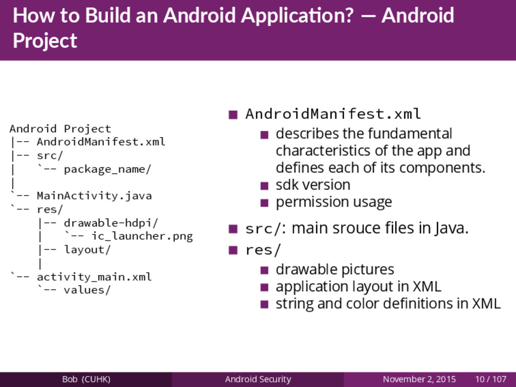 How to Build an Android Applica on? — Android P...