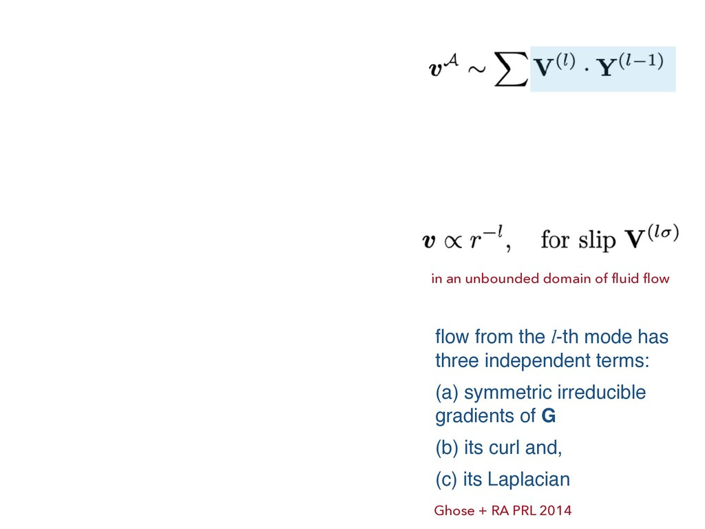 in an unbounded domain of fluid flow flow from ...