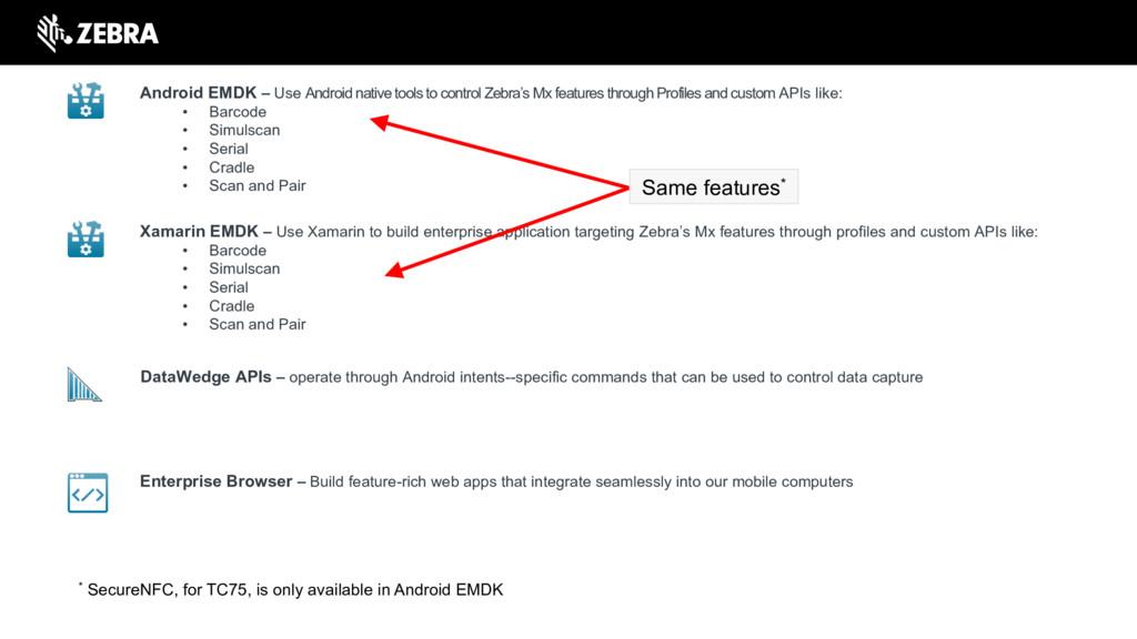 Enterprise Browser – Build feature-rich web app...
