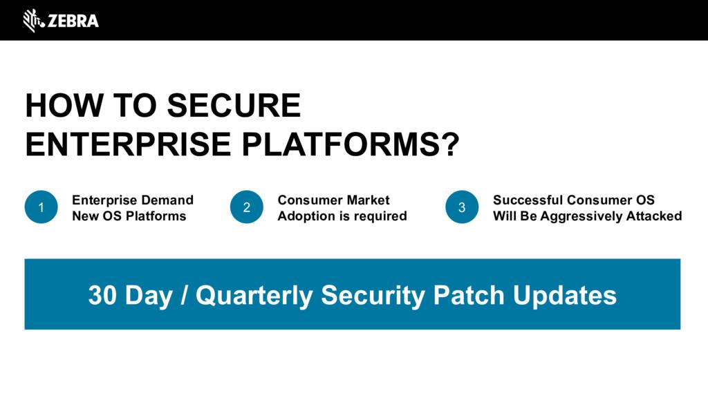 HOW TO SECURE ENTERPRISE PLATFORMS? Enterprise ...