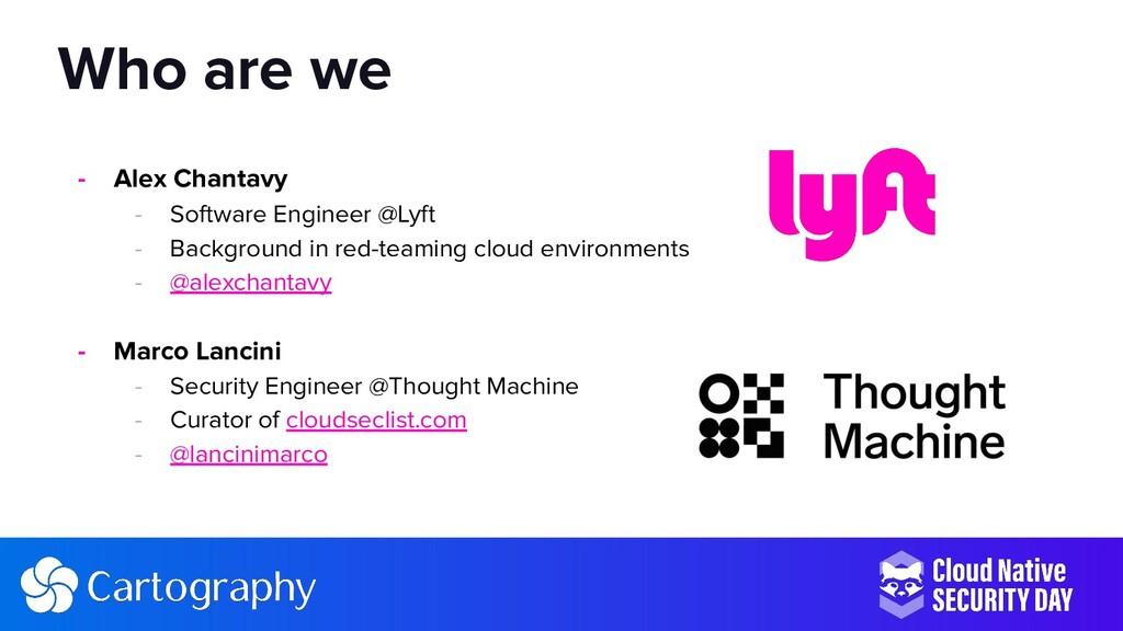 - Alex Chantavy - Software Engineer @Lyft - Bac...