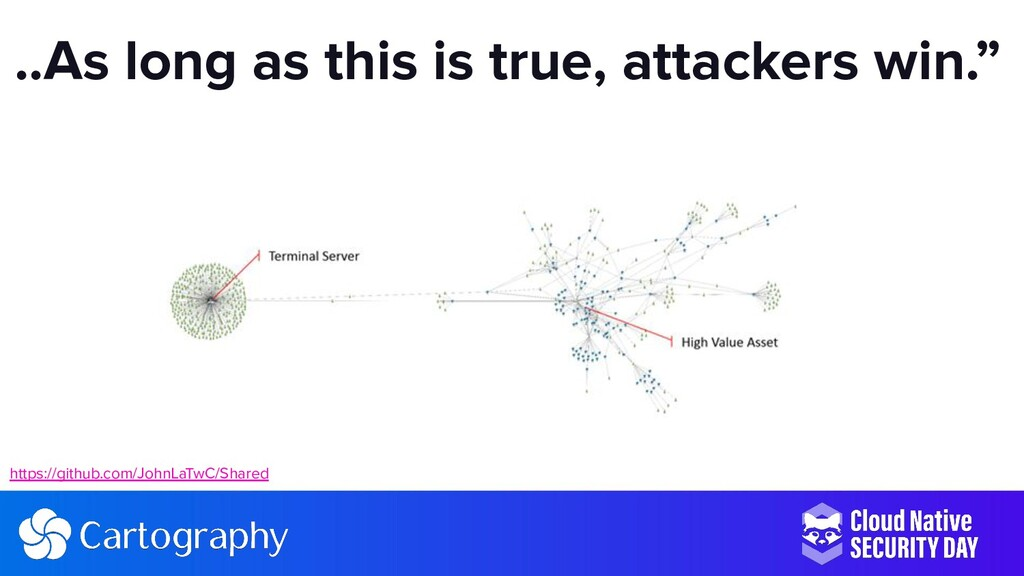 """..As long as this is true, attackers win."""" http..."""