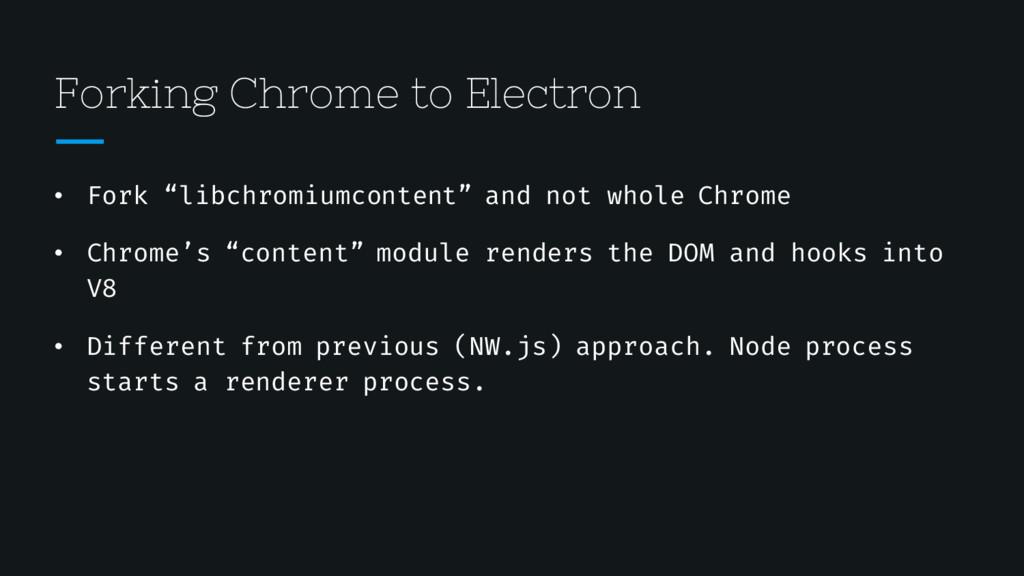 """Forking Chrome to Electron • Fork """"libchromiumc..."""