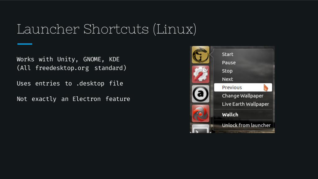 Launcher Shortcuts (Linux) Works with Unity, GN...