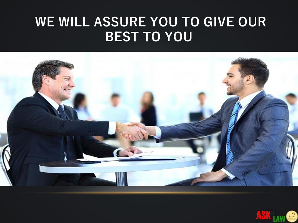 WE WILL ASSURE YOU TO GIVE OUR BEST TO YOU