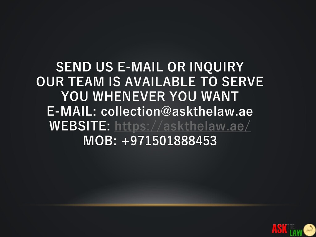 SEND US E-MAIL OR INQUIRY OUR TEAM IS AVAILABLE...
