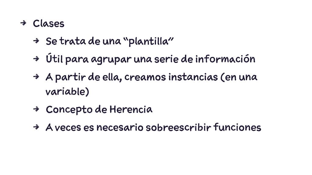 "4 Clases 4 Se trata de una ""plantilla"" 4 Útil p..."