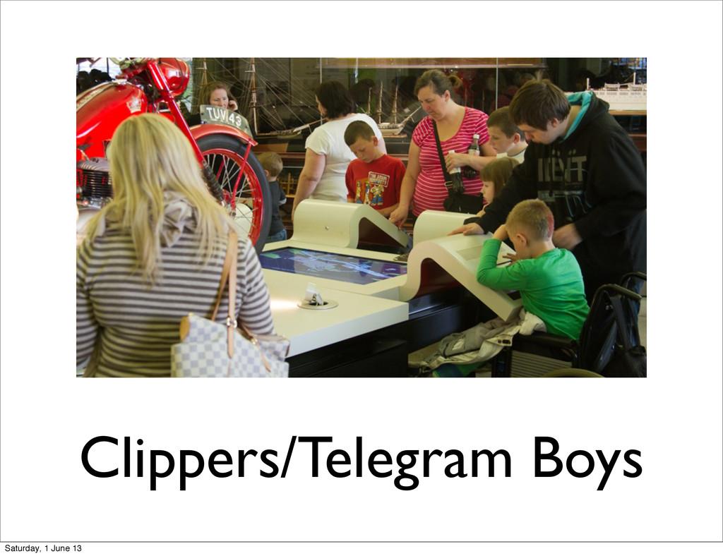 Clippers/Telegram Boys Saturday, 1 June 13
