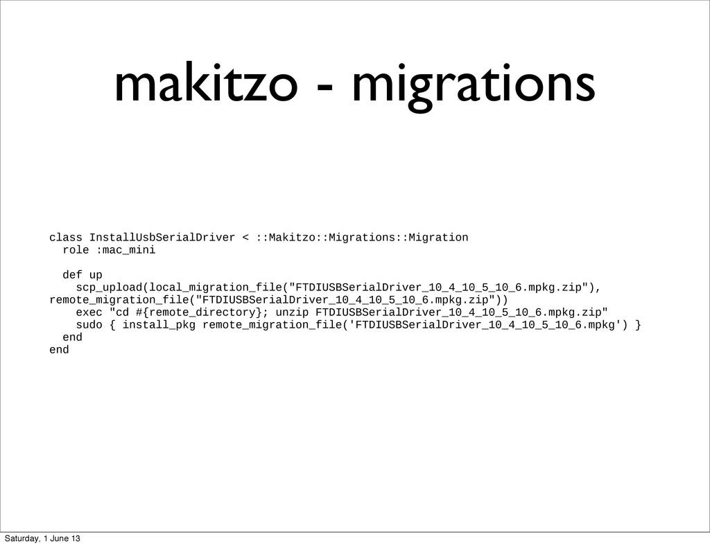makitzo - migrations class InstallUsbSerialDriv...