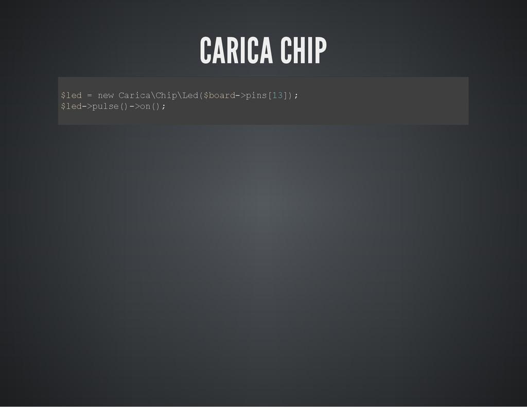 CARICA CHIP $ l e d = n e w C a r i c a \ C h i...