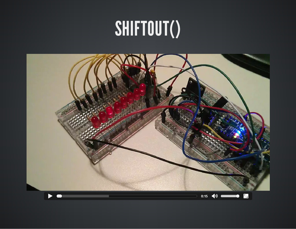 SHIFTOUT() 0:15