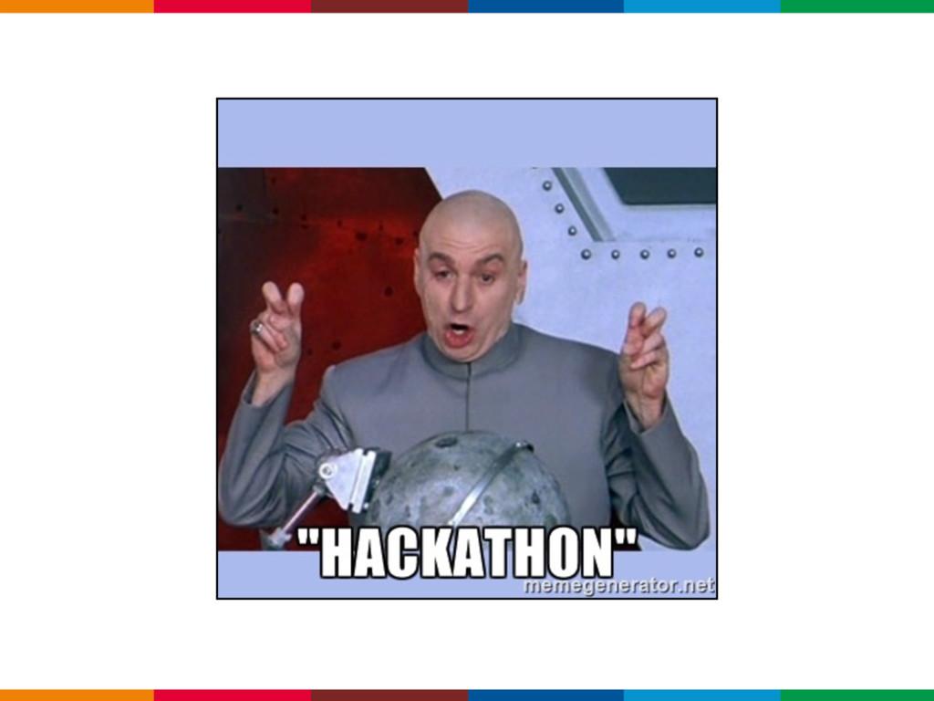 O que um hackathon NÃO deve ser
