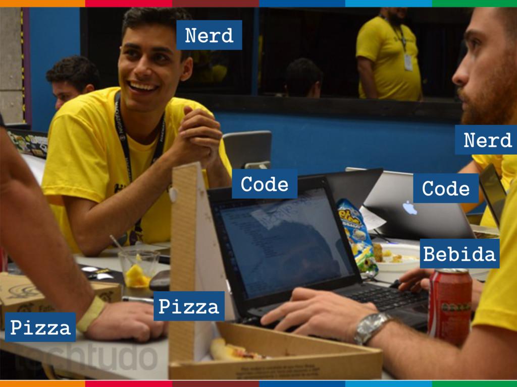 Pizza Code Nerd Nerd Code Pizza Bebida