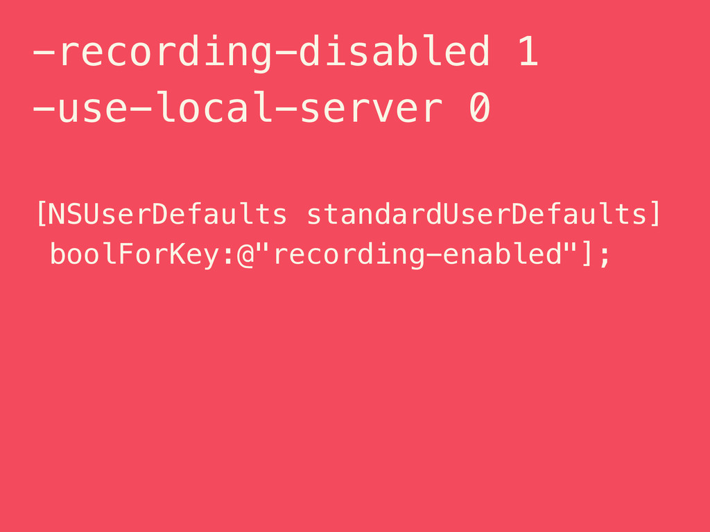 -recording-disabled 1 -use-local-server 0 [NSUs...