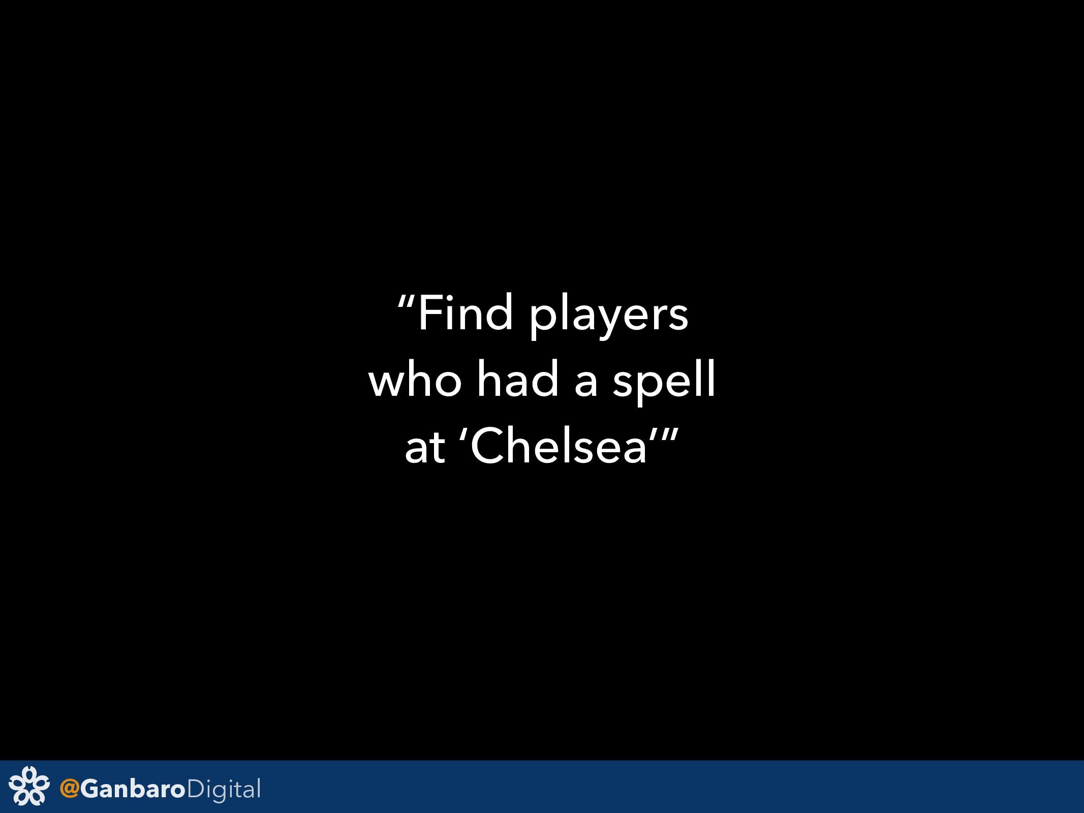 "@GanbaroDigital ""Find players who had a spell a..."