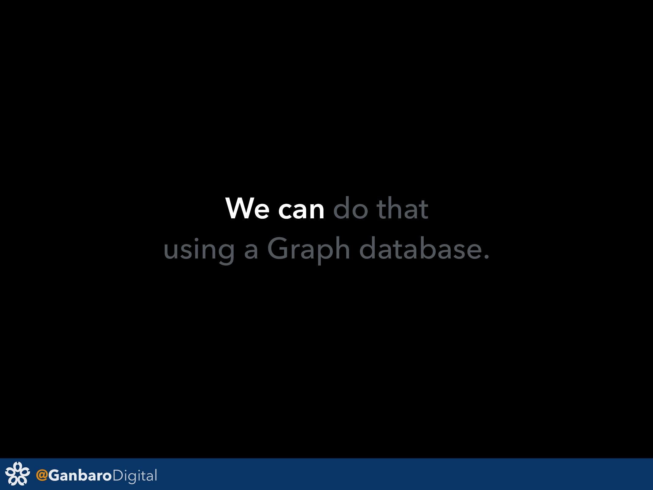 @GanbaroDigital We can do that using a Graph da...