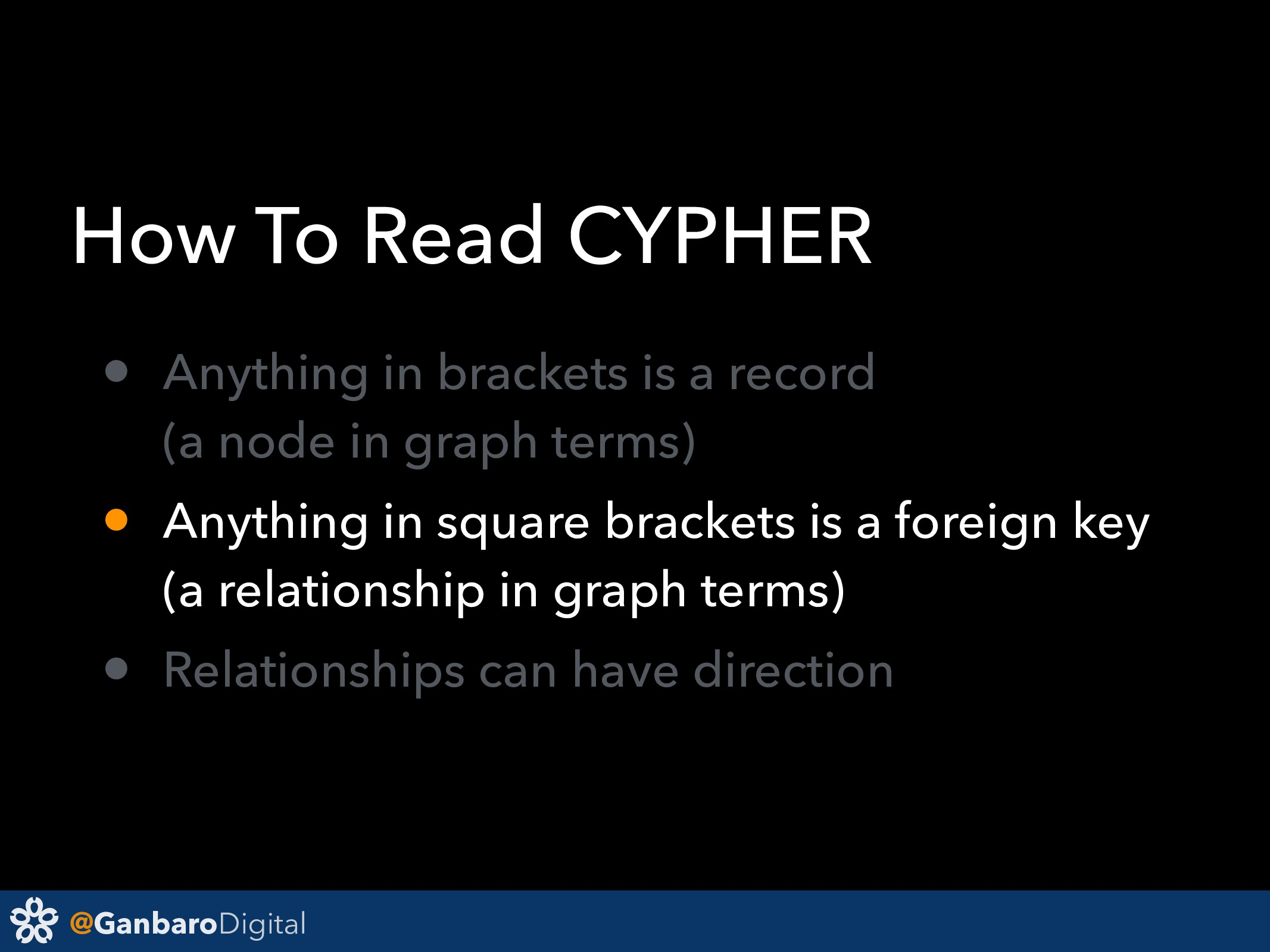 @GanbaroDigital How To Read CYPHER • Anything i...
