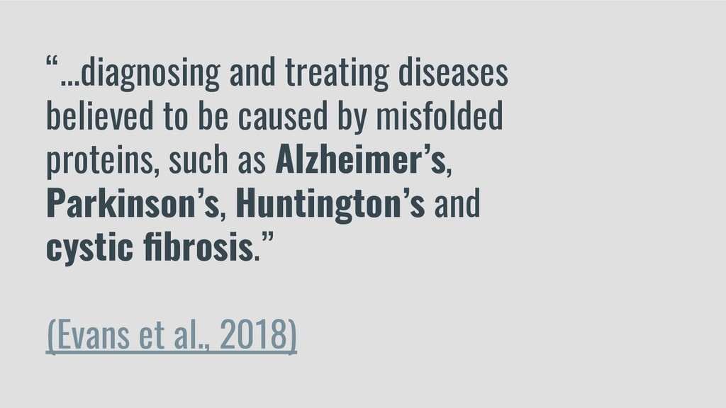 """""""...diagnosing and treating diseases believed t..."""