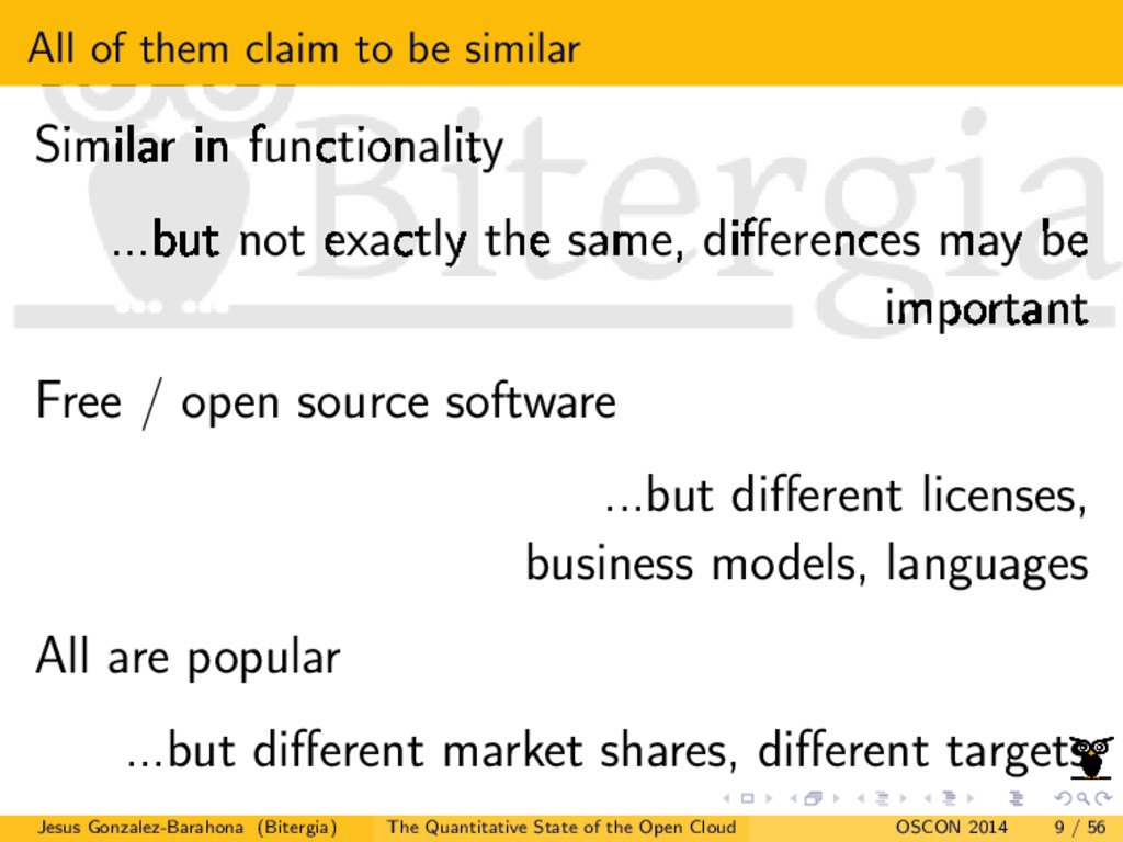 All of them claim to be similar Similar in func...