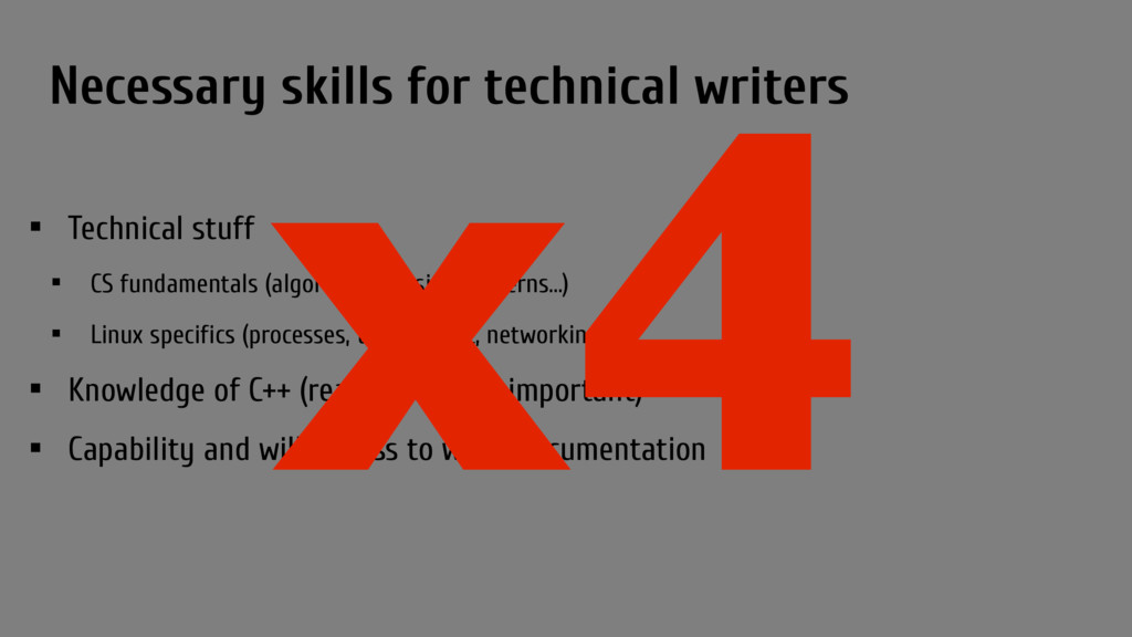Necessary skills for technical writers • Techni...