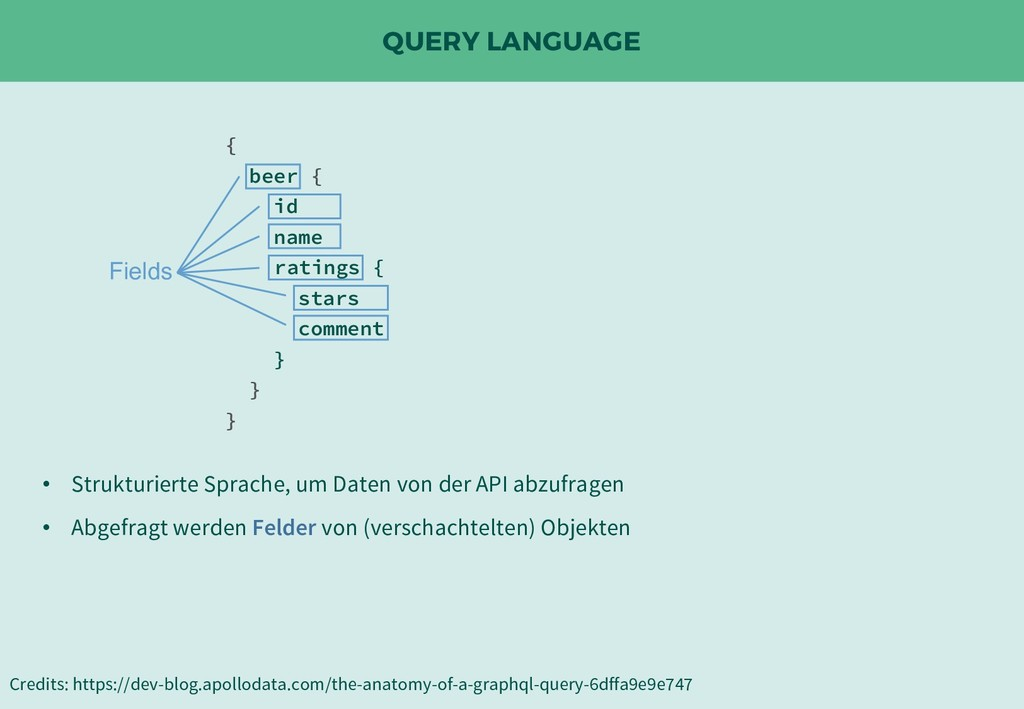 QUERY LANGUAGE Credits: https://dev-blog.apollo...