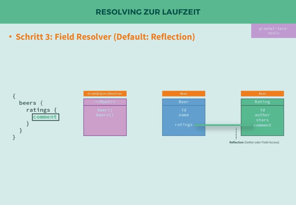 RESOLVING ZUR LAUFZEIT • Schritt 3: Field Resol...