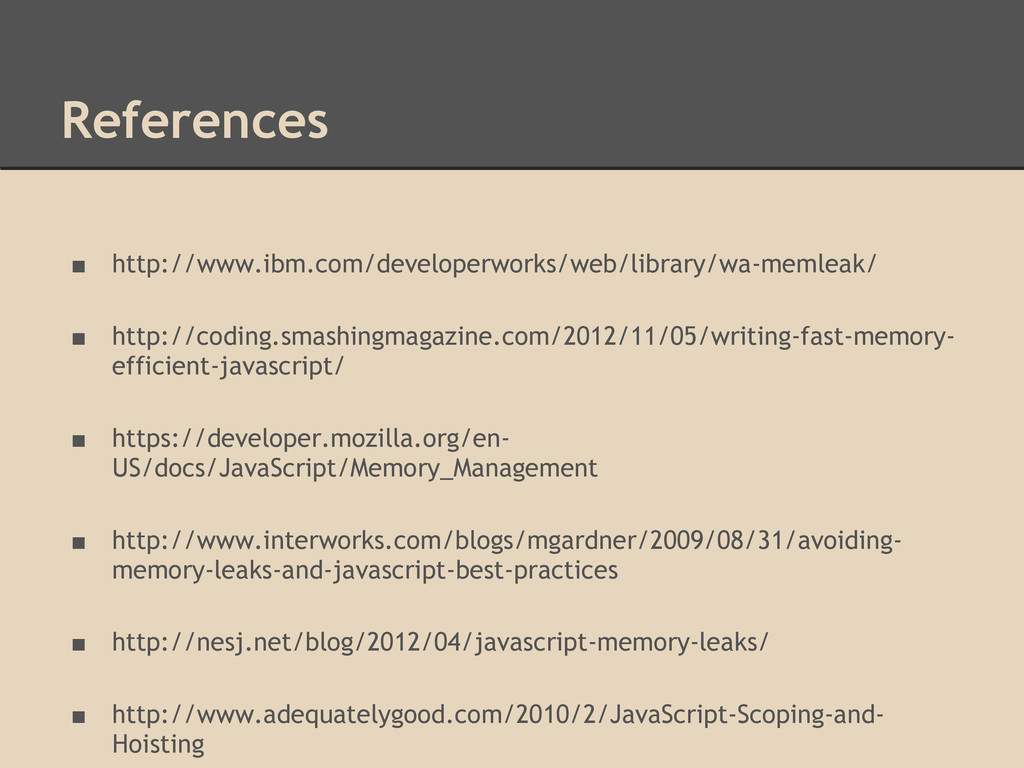 References ■ http://www.ibm.com/developerworks/...
