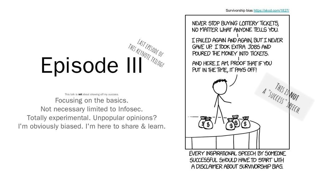 Episode III Survivorship bias https://xkcd.com/...