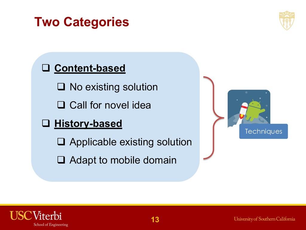 q Content-based q No existing solution q Call f...