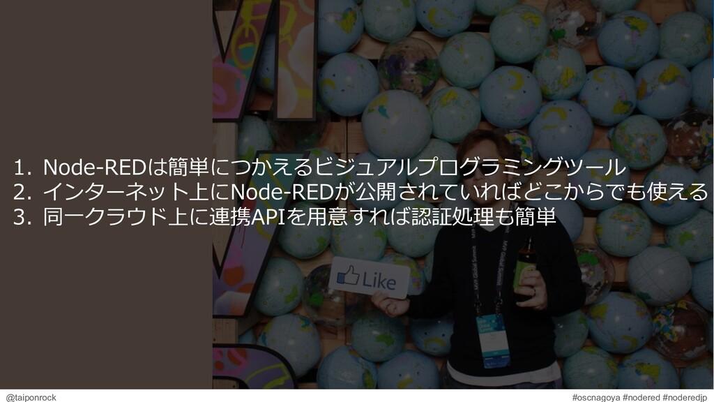 #oscnagoya #nodered #noderedjp @taiponrock 1. N...