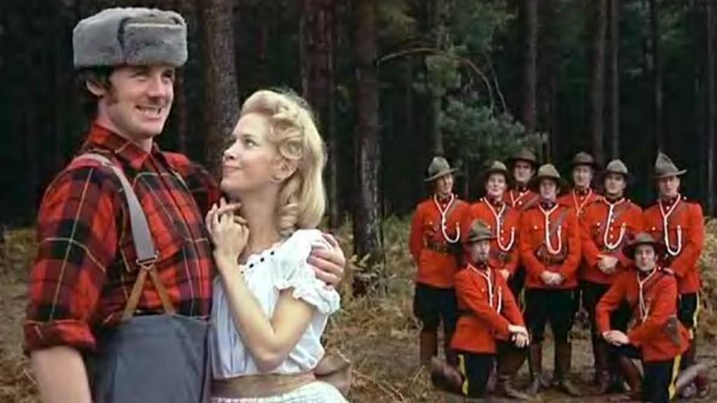Monty Python Lumberjack.