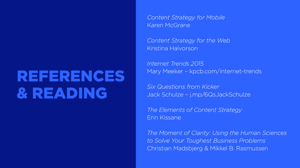 Content Strategy for Mobile Karen McGrane Conte...